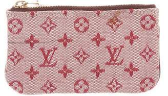 Louis Vuitton Mini Lin Key Pouch