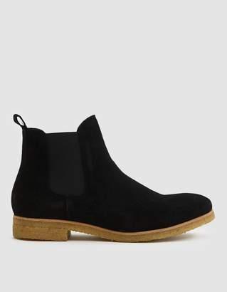 Stb Copenhagen Kelvin Suede Boot in Black