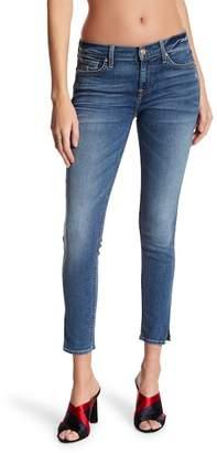 7 For All Mankind The Ankle Split Hem Skinny Jeans
