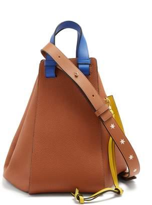 Loewe Hammock medium leather tote