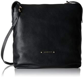 Caterina Lucchi Le Fibbie, Women's Shoulder Bag, Schwarz (), 13x31x30 cm (B x H T)
