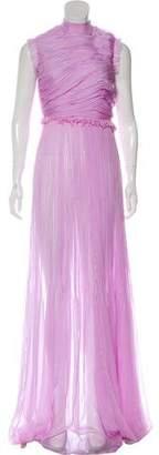 Rochas Silk Maxi Dress