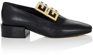 Givenchy Women's Logo-Embellished Leather Loafers