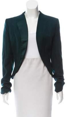 Haider Ackermann Silk-Accented Wool Jacket