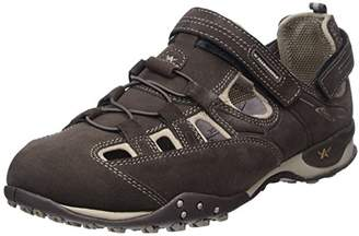 Mephisto Allrounder Men's Running Shoes, Brown Tarantino C.Suede 03/Lycra 37 Lavagna/Taupe