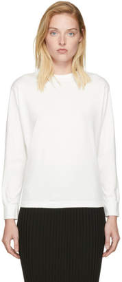 Moderne White Joan Mock Neck Sweater