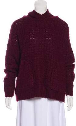 Elizabeth and James Long Sleeve Knit Sweater