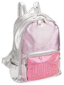 Bari Lynn Girl's School Love Heart Backpack