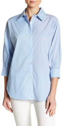 Insight Striped Dolman Sleeve Shirt