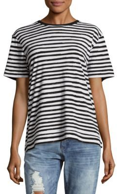 Sketch Striped Cotton Tee