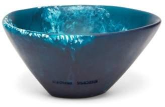 Dinosaur Designs Flow Ice Cream Bowl - Blue