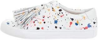 Loeffler Randall Logan Splatter Sneakers w/ Tags