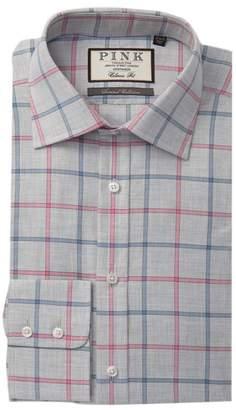 Thomas Pink Jarlwindow Pane Check Classic Fit Dress Shirt