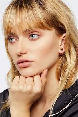 Sterling Forever Jewelry Double Sided Orbit Stud Earrings