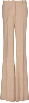 Victoria Beckham Flared High-Rise Wool Trousers