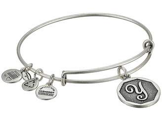 Alex and Ani Initial Y Charm Bangle Bracelet