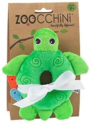 Baby Buddy Rattle - Turtle/Green by Zoocchini