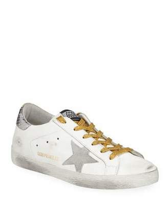 Golden Goose Mix Match Platform Sneakers