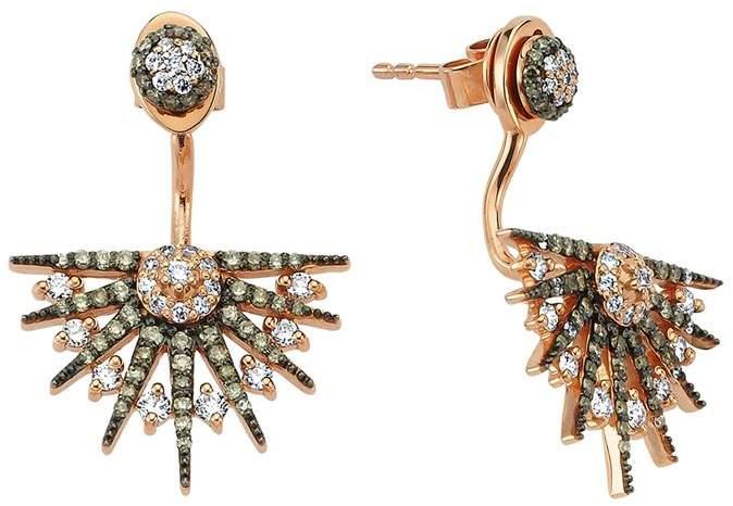 Bee Goddess Star Light Diamond Ear Jackets