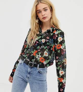 Vero Moda sheer floral shirt