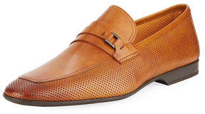 Magnanni Men's Butero Perforated Slip-On