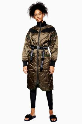 Ivy Park Quilted Bardot Coat