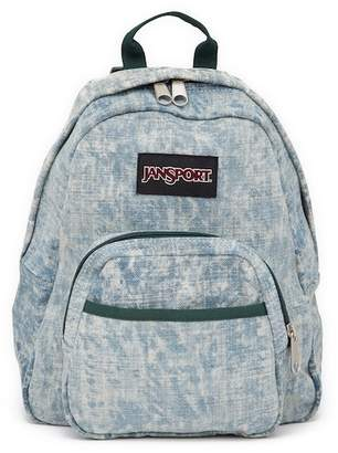 JanSport Half Pint Laser Wash Denim Backpack