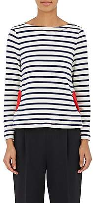 Lisa Perry WOMEN'S MARINERS STRIPED COTTON TOP