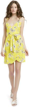 Alice + Olivia SUSANA FLORAL WRAP DRESS