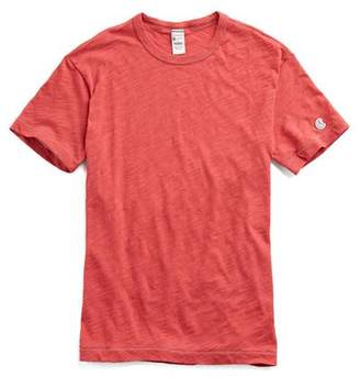 Todd Snyder + Champion Champion Classic T-Shirt in Faded Red