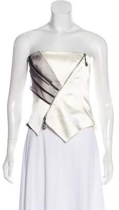 Christian Lacroix Embellished Strapless Top