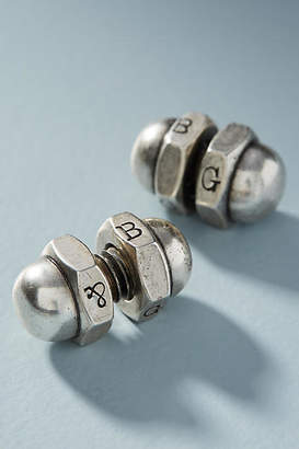 Giles & Brother Acorn Nut Men's Cufflinks