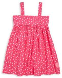 Smiling Button Toddler's, Little Girl's& Girls Palm's Springs Swing Cotton Dress