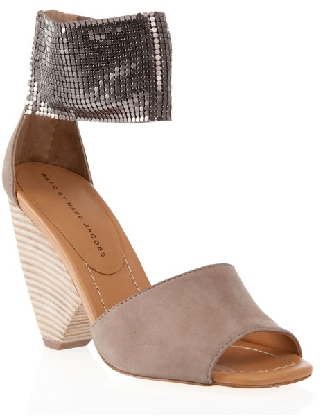 MARC BY MARC JACOBS - Chain-mail detail sandals