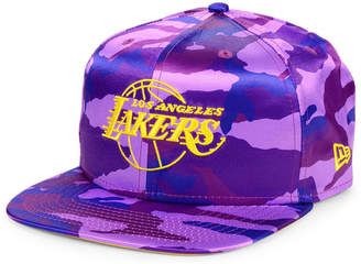 New Era Los Angeles Lakers Satin Camo 9FIFTY Cap