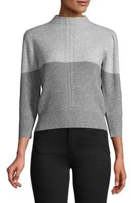 Marella Ribbed Colorblock Sweater