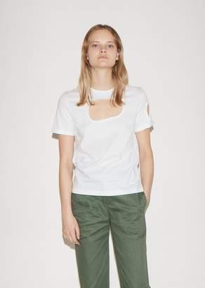 Vejas Organic Cutout T-shirt
