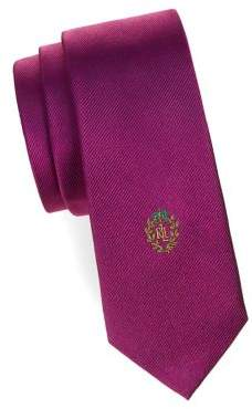 Lauren Ralph Lauren Boy's Textured Slim Silk Tie