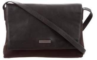 Tumi Leather-Accented Baguette Bag