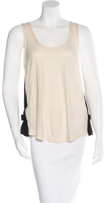 Boy. by Band of Outsiders Two-Tone Sleeveless Top $95 thestylecure.com