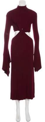 Sid Neigum Long-Sleeve Maxi Dress