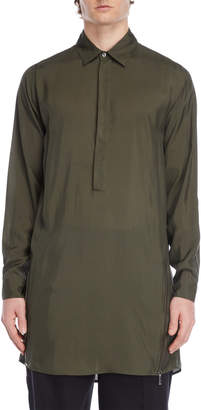 Jil Sander Longline Pullover Dress Shirt