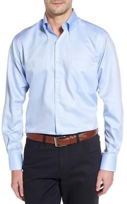 Peter Millar Crown Soft Regular Fit Pinpoint Sport Shirt