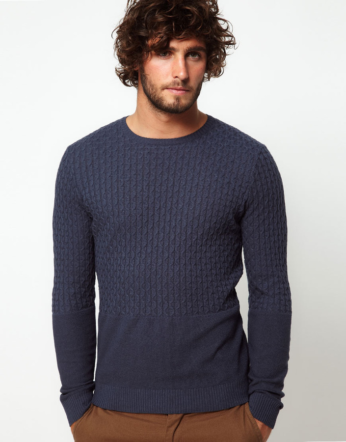 Asos Cable Knit Sweater
