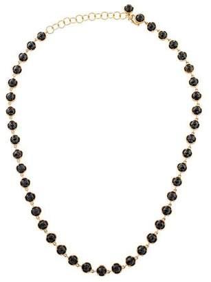 Irene Neuwirth 18K Onyx Station Necklace