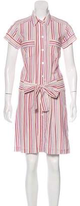 Cacharel Belted Button-Up Dress