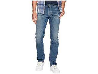AG Adriano Goldschmied Matchbox Slim Straight Leg Jeans in 15 Years Glitch