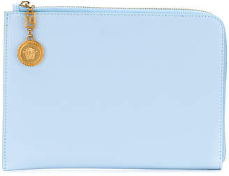Méduse Verrouiller Sac D'embrayage - Bleu Versace MFa9Km