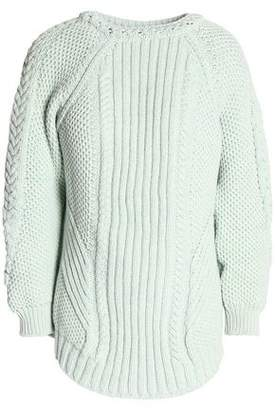 Belstaff Cable-Knit Cotton Sweater