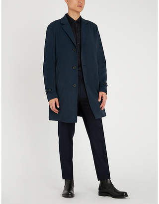 Etro Paisley-patterned stretch-twill coat